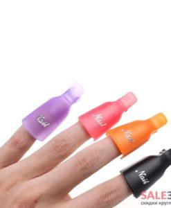 Колпачки на ногти для снятия гель-лака