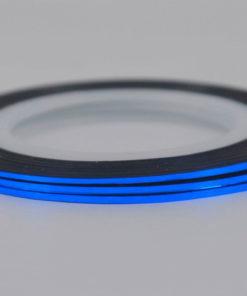 Синяя лента для ногтей