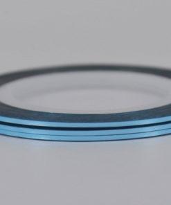 Голубая лента для ногтей