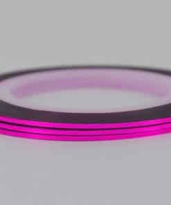 Фиолетовая лента для ногтей