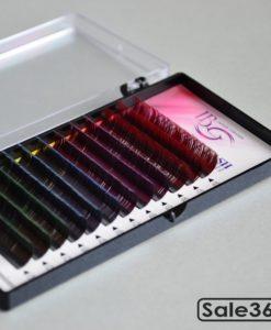 Ресницы I-Beauty / Цветные кончики