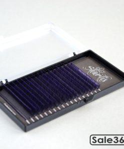 Ресницы Sharlis / Черные с фиолетовыми кончиками