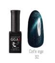 Гель лак GGA Professional «Кошачий глаз» 032