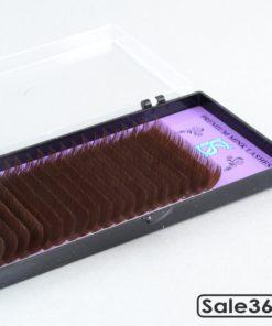 Ресницы SK Professional / Микс / Темный шоколад
